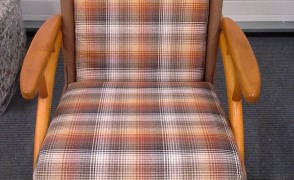 Minkštas krėslas